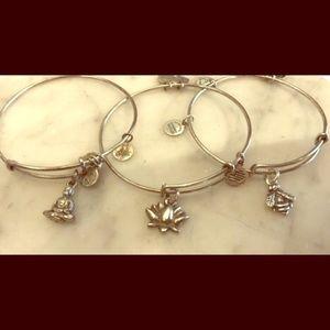 Alex and Ani 3 bracelet bundle